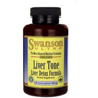 Kapsułki Swanson Liver Tone (Liver Detox Formula) 300mg 120 kaps.
