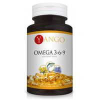 Omega 3-6-9 + Olej z wiesiołka YANGO - 60 kapsułek