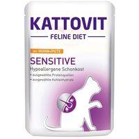 KATTOVIT Sensitive kurczak - saszetka 6x85g (4000158770332)
