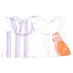 La redoute collections Komplet, 2 bawełniane koszulki na ramiączkach, oeko tex 1 miesiąc - 3 latka
