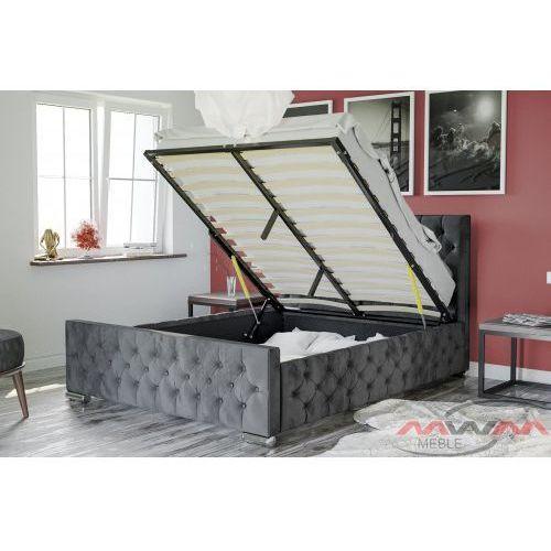 łóżko Tapicerowane Do Sypialni 160x200 1253g Welur Df31 78337 Meblemwm