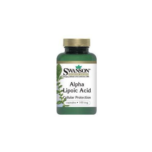 Swanson ALA kwas alfa liponowy 100mg 120kaps - suplement diety