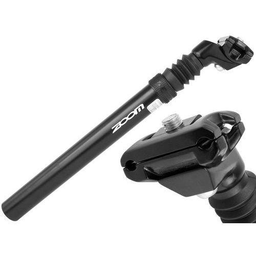 Wspornik siodła amortyzowany Zoom SPS-C372, średnica 30,9 mm, czarny
