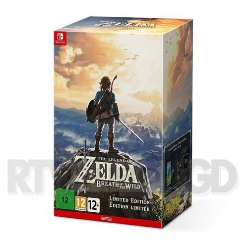 The legend of zelda: breath of the wild - edycja limitowana - produkt w magazynie - szybka wysyłka! marki Nintendo