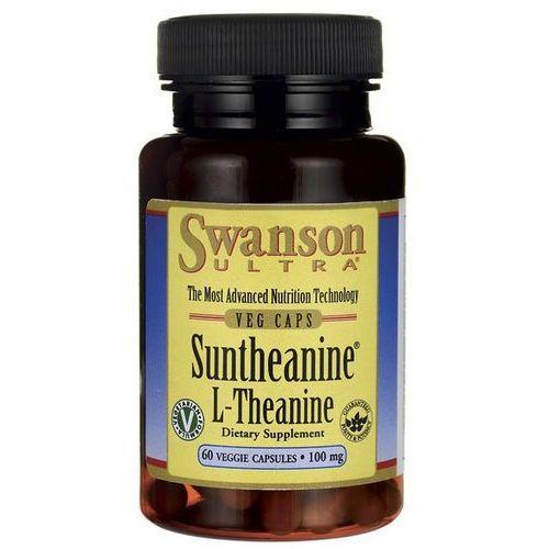 Swanson Suntheanine L-Teanina 100mg 60veg. kaps - suplement diety