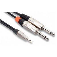 - kabel pro trs 3.5mm - 2 x ts 6.35mm, 3m, przejściówka wyprodukowany przez Hosa
