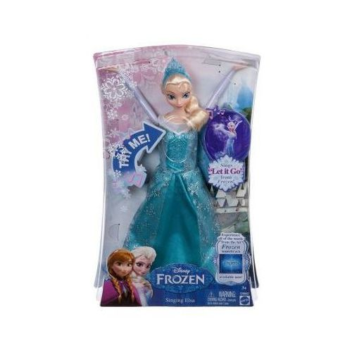 Lalka Śpiewająca Elsa Frozen Kraina Lodu ANG CHW87 CHW87