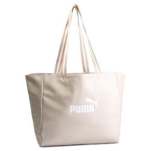 9b97fa19820b1 Zobacz ofertę Puma Torebka - core up large shopper 075953 02 silver gray