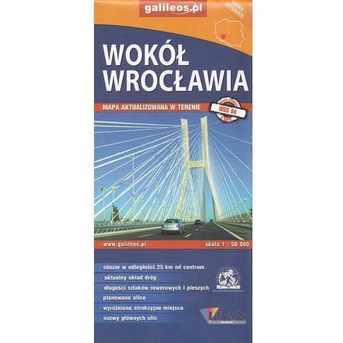 Mapa turystyczna - Wokół Wrocławia 1:50 000 - Praca zbiorowa (2018)
