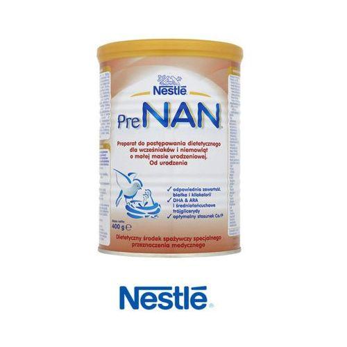 NESTLE PRE NAN 400g Mleko w proszku dla wcześniaków i niemowląt o małej masie, puszka