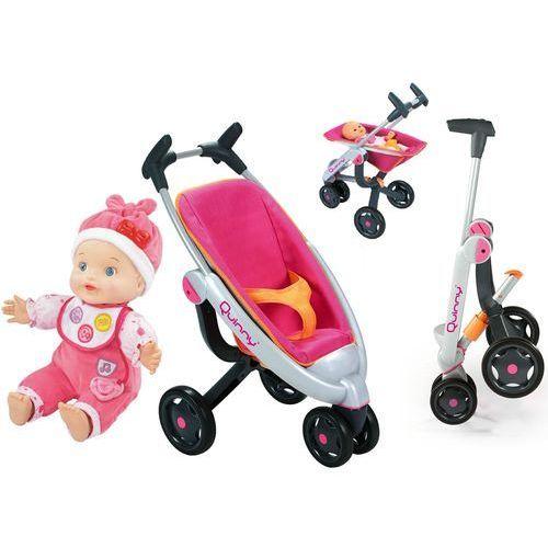 Smoby Spacerówka wózek trójkołowy dla lalek Quinny i Vtech Lala Ala