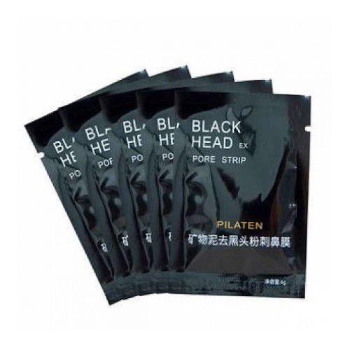 Pilaten czarna maska z węglem bambusowym saszetka 6ml