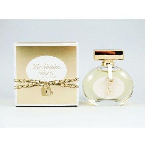 Antonio Banderas Her Golden Secret Woman 80ml EdT