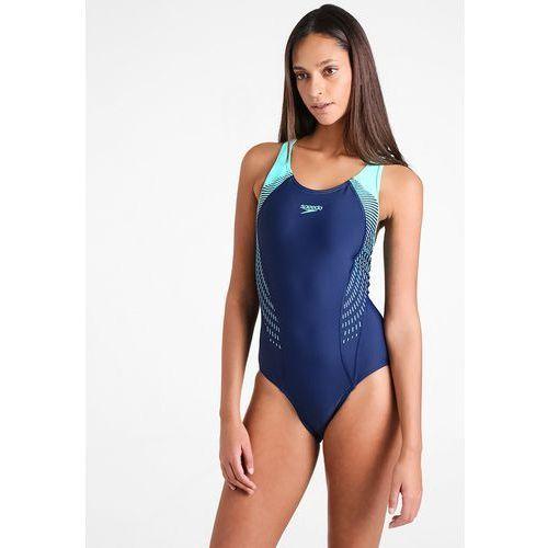 aebd2d6bdc1f3f Speedo fit laneback strój kąpielowy kobiety niebieski/turkusowy de 36 / us  32 2018 stroje