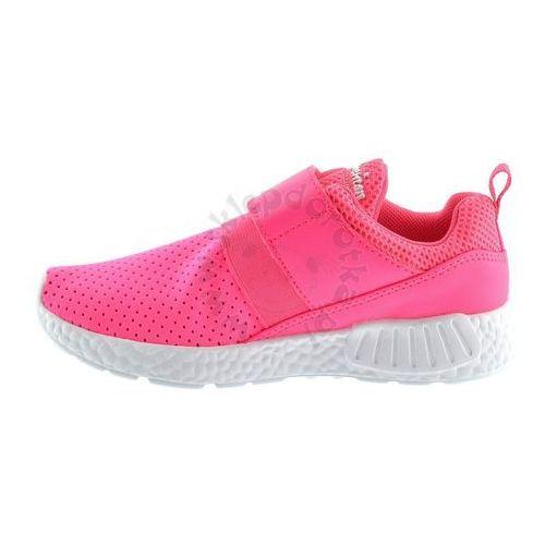 Adidasy dziecięce K1113 Fuksja, kolor różowy (American Club)