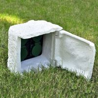 przedłużacz ogrodowy 4-gniazdkowy, wodoodporny, biały marki Vidaxl
