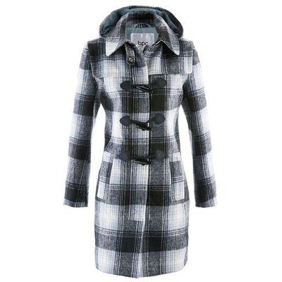 Płaszcze damskie Wzór: kratka ceny, opinie, recenzje