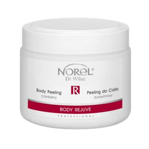 Norel (dr wilsz) body rejuve body peeling cranberry żurawinowy peeling do ciała (pp177) - 500 ml