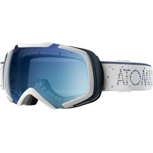Atomic gogle revel s ml white / light blue