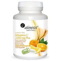 Witamina C 1000 mg Plus 100 kaps VEGE odporność – Aliness