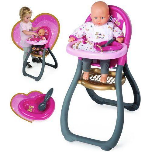 Smoby Baby Nurse Krzesełko do karmienia lalek (3032162203101)