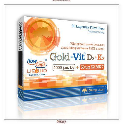 Kapsułki Olimp Gold-Vit D3+K2 30 kaps.