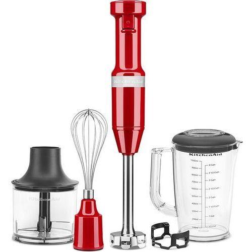 Kitchenaid Blender ręczny przewodowy czerwony z akcesoriami 5 el.