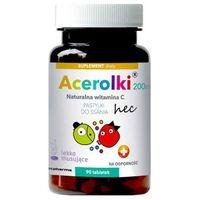 Tabletki Acerolki 200mg naturalna witamina C x 90 tabletek
