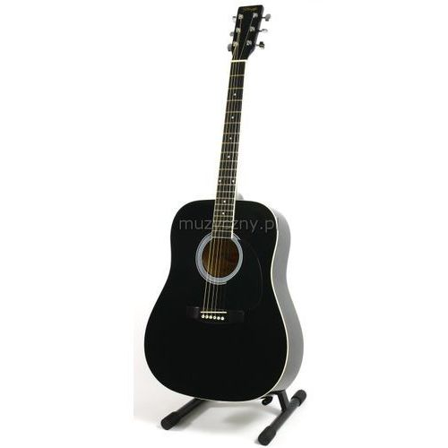 Stagg SW 201 BK - gitara akustyczna