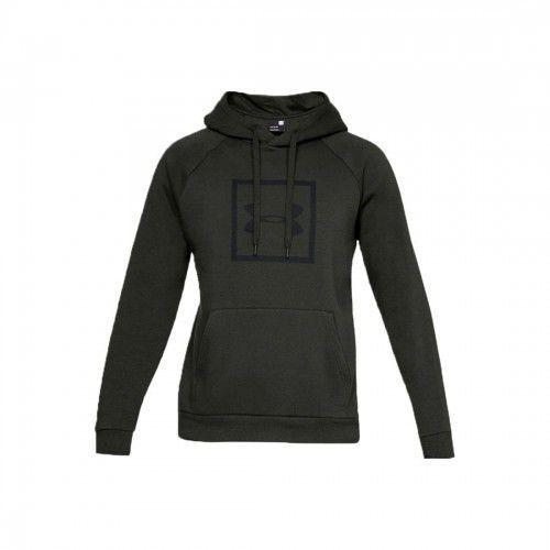 Under armour Bluza męska rival fleece logo hoodie 1329745-357