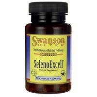 Kapsułki Swanson SelenoExcell (naturalny selen) 200ug 60 kaps.