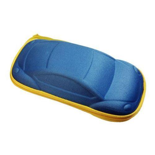 Banz Etui na okulary przeciwsłoneczne case dzieci - blue car
