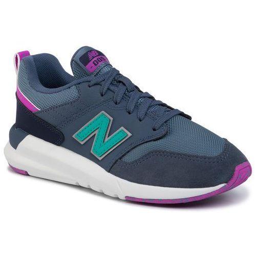 New balance Sneakersy - ws009og1 granatowy