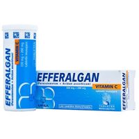 Tabletki EFFERALGAN Z VITAMINĄ C 10 tabletek musujących