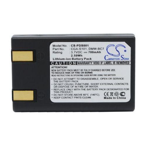 Panasonic CGA-S101 / DMW-BC7 700mAh 2.59Wh Li-Ion 3.7V (Cameron Sino) (4894128004134)