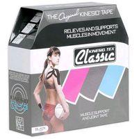 tex classic taśma do tapingu 5cm x 31,5m - czarna marki Kinesio