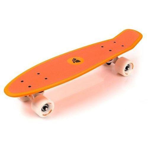 Deskorolka fiszka pennyboard grip pomarańczowa  pomarańczowy marki Meteor