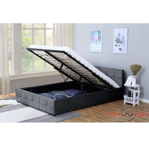 łóżko Tapicerowane Do Sypialni 180x200 1294g Welur Popiel 227a 398o2 Meblemwm