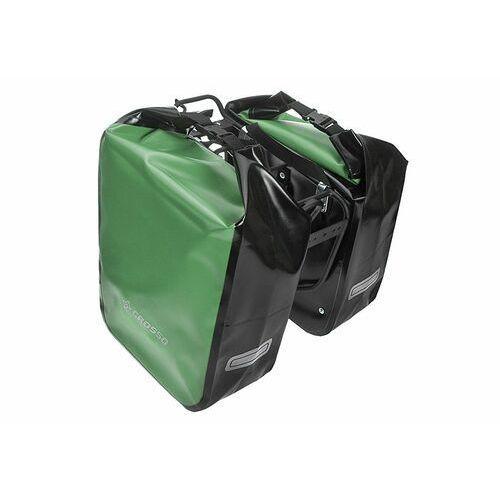 Co1009.60.86 sakwy rowerowe dry big 60l zielone zestaw na tył marki Crosso