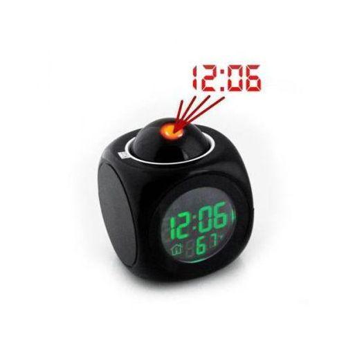 Mówiący Zegarek z Projektorem + Budzik + Termometr itd., 590837262591