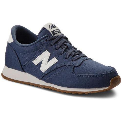 Sneakersy NEW BALANCE - WL420FSB Granatowy, kolor niebieski