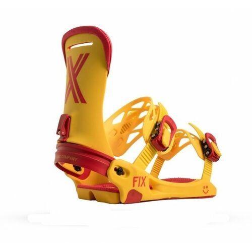 Fix bindings Wiązania snowboardowe fix magnum (yellow) 2019