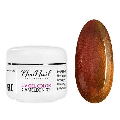 Neonail 3632 cameleon uv gel red/gold 5ml - 3632 - Super rabat