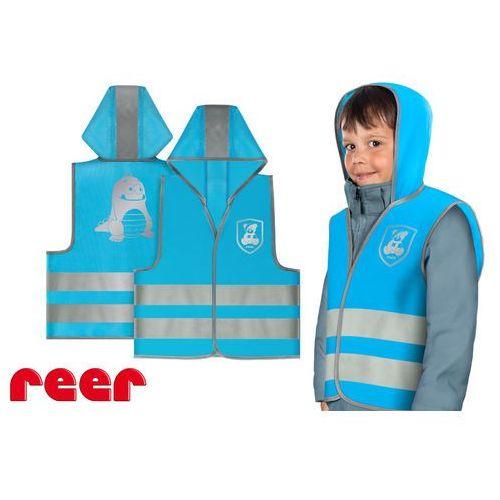 Kamizelka odblaskowa, xs, dla dzieci 2 lata+, - niebieski marki Reer