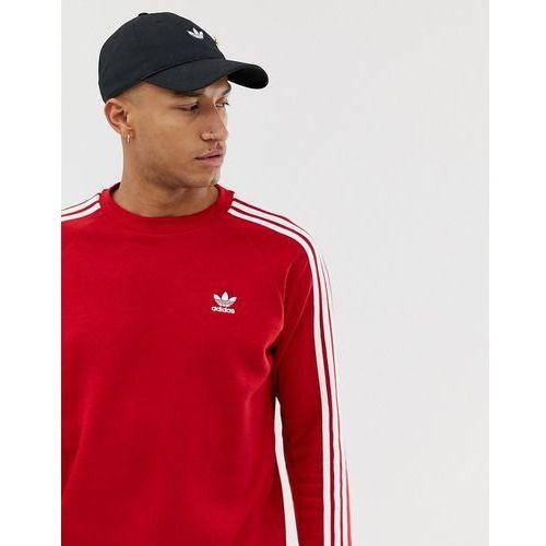 7aedaf4db Adidas Originals Adidas Originals 3 Stripe Sweatshirt DV1553 Red - Red