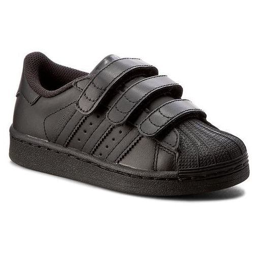 Buty adidas - Superstar Foundation Cf C B25728 Cblack/Cblack/Cblack, kolor czarny
