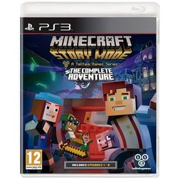 Minecraft Story Mode The Complete Adventure (PS3)