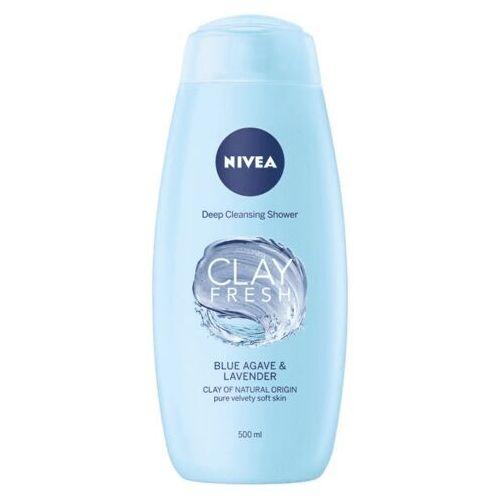 NIVEA Clay Fresh żel pod prysznic z glinką Blue Agave & Lavender 500ml - Sprawdź już teraz