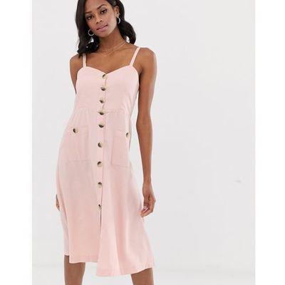 b5ee87228c suknie sukienki plisowana sukienka midi zielona 9247 Vila kolekcja ...