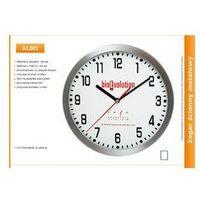Zegar reklamowy aluminiowy /300mm